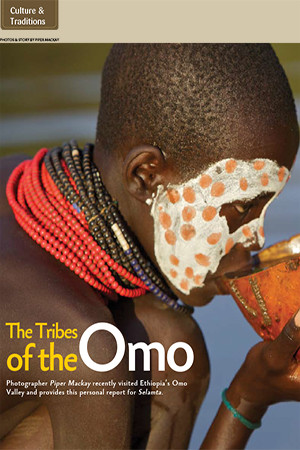 Selamta Magazine: Tribes of the Omo
