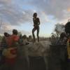 Kara bull jumping ceremony, Omo Valley, Ethiopia