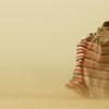Harsh dust storm, Omo Valley, Ethiopia