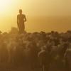 Herding the livestock through a dust storm, Omo Valley, Ethioia