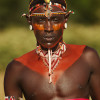 Rendille warrior, wedding ceremony, Northern Kenya