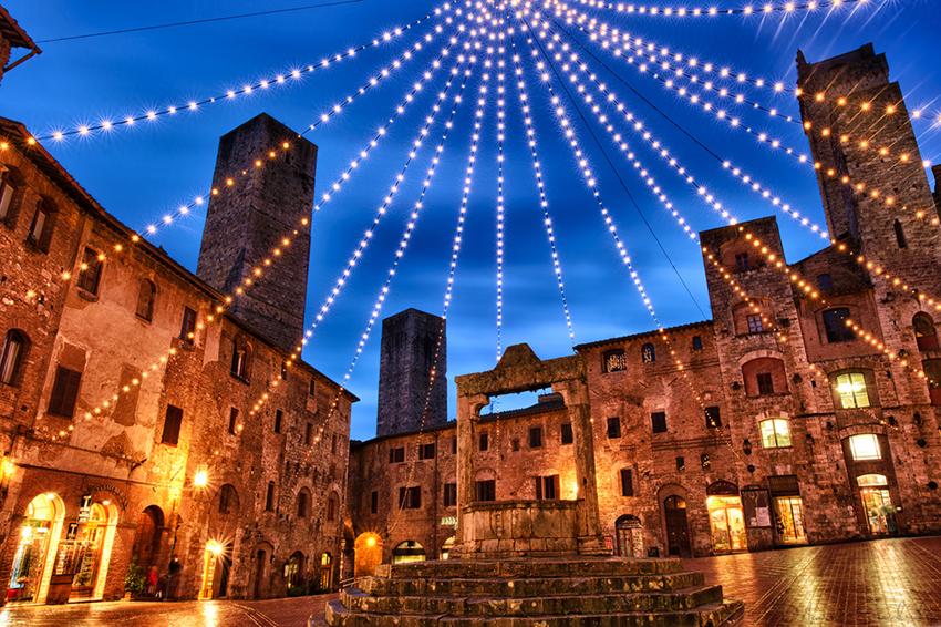 Italy twilight
