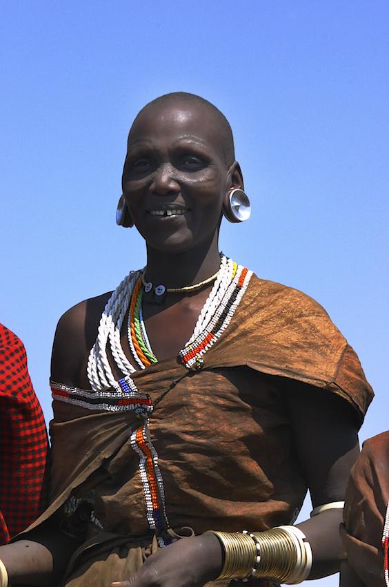 watoga tribal woman, tanzania
