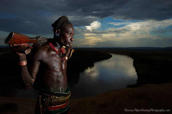 Hamar tribe, Omo Valley, Ethiopia