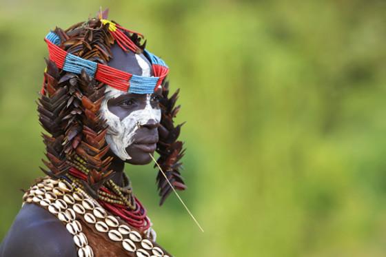 Kara Tribe, Omo Valley, Ethiopia