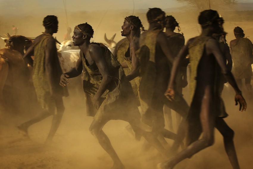 Kara Tribe, Bull-jumpers, ceremony, Omo Valley