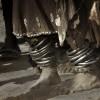 Dancing feet of the Turkana Tribe, Northern Kenya