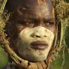 Suri tribe in the Omo Valley, Ethiopia