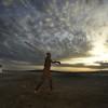 Going fishing on Lake Turkana, Turkana Tribe, Kenya