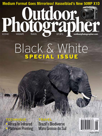 africa in infrared outdoor photographer cover 6 page article