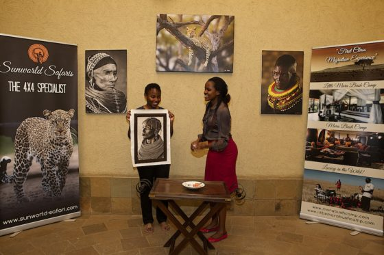 Generosity Campaign Turkana Girl Winner