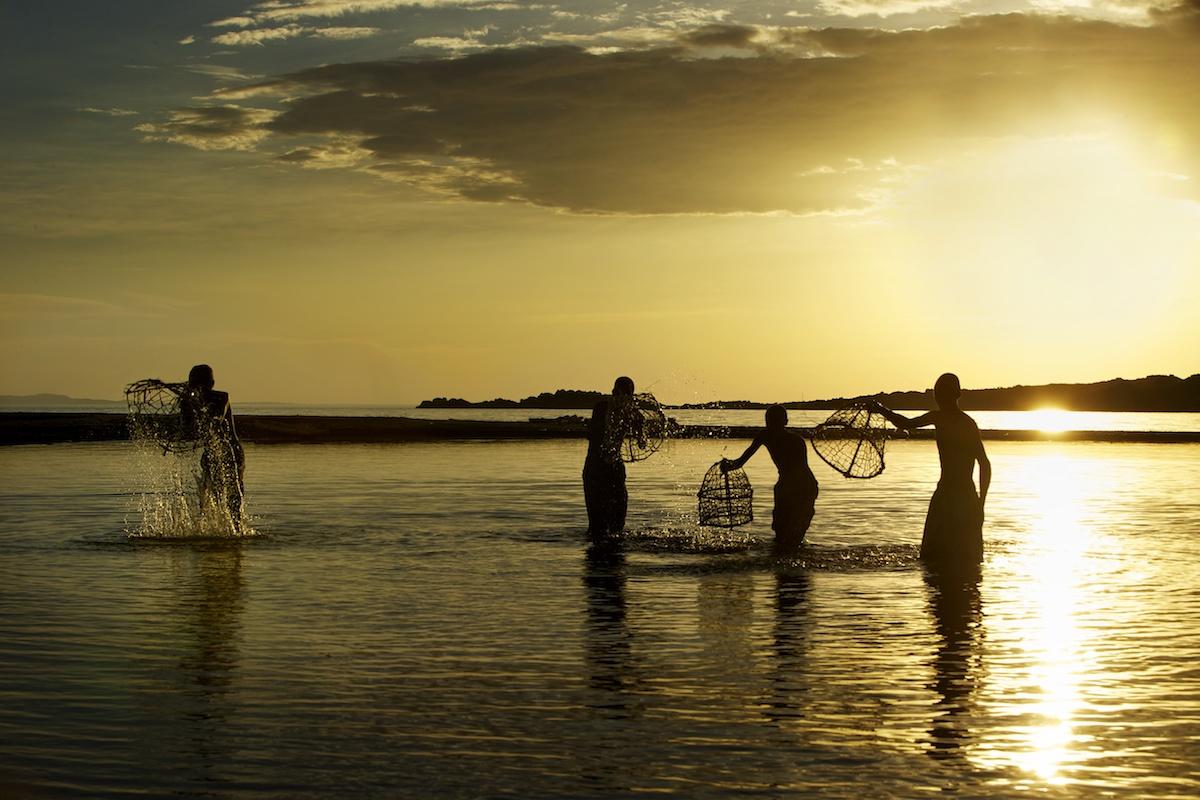 El Polo fishing in Lake Turkana, Northern Kenya