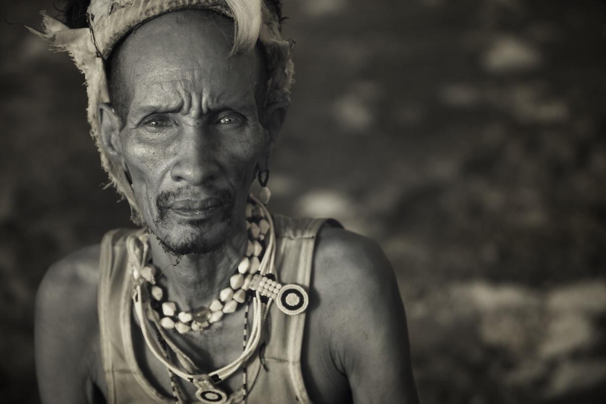 Photograph of a Turkana Tribe man