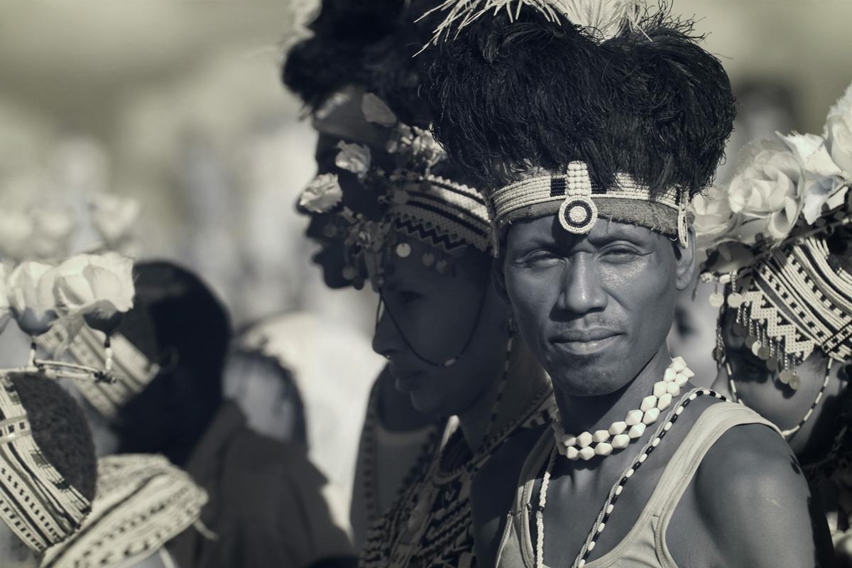 Turkana man at the Turkana Festival