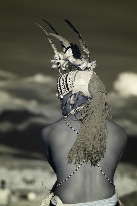 Randille warrior at the Turkana Festival